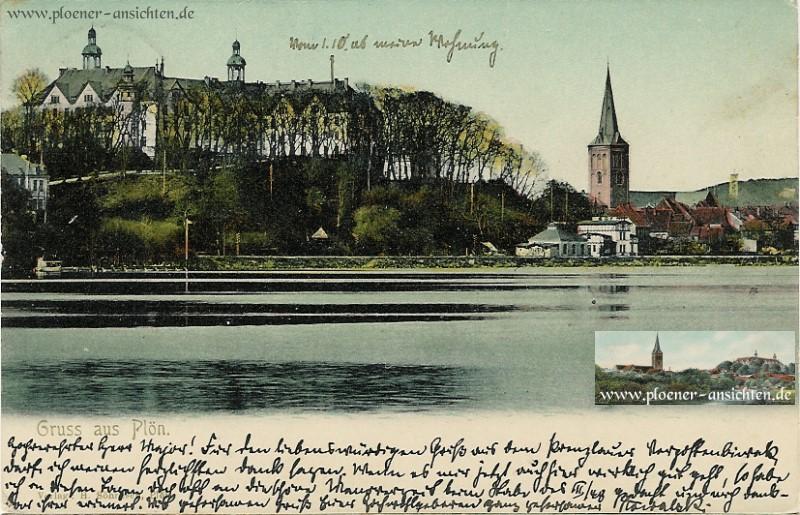 Gruss aus Plön - Schloss Plön