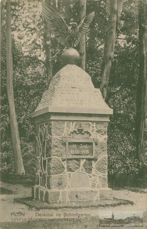Denkmal im Schlossgarten