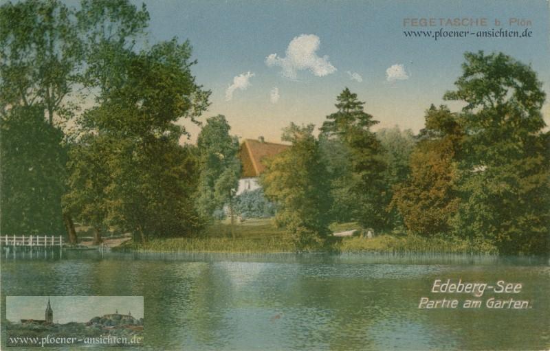 Fegetasche - Edeberg-See Partie am Garten
