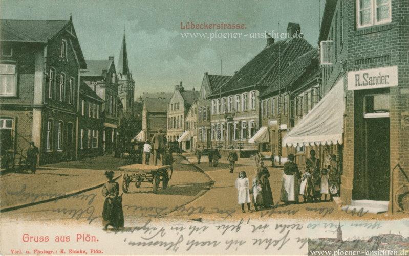 Gruß aus Plön - Lübeckerstrasse