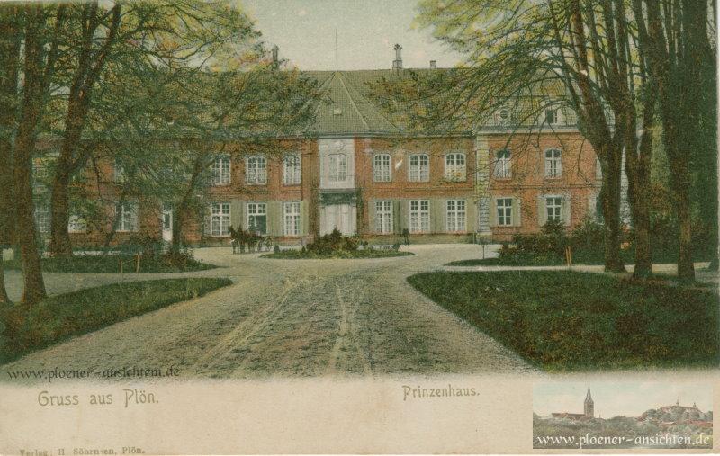 Gruß aus Plön - Prinzenhaus