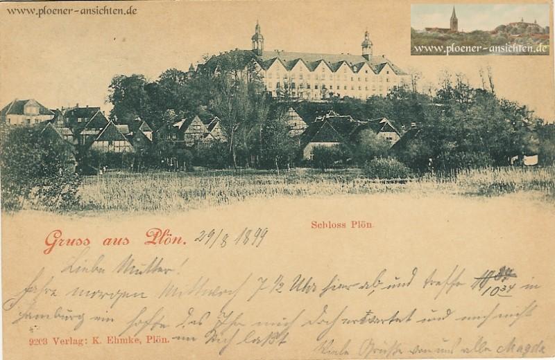 Stadtansicht Lange Str. und Schloss