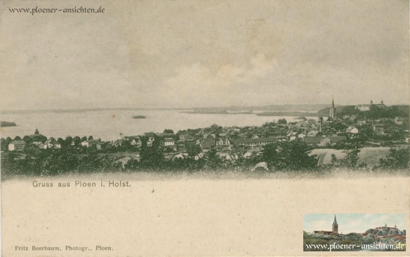 Gruss aus Plön i. Holst. 1896