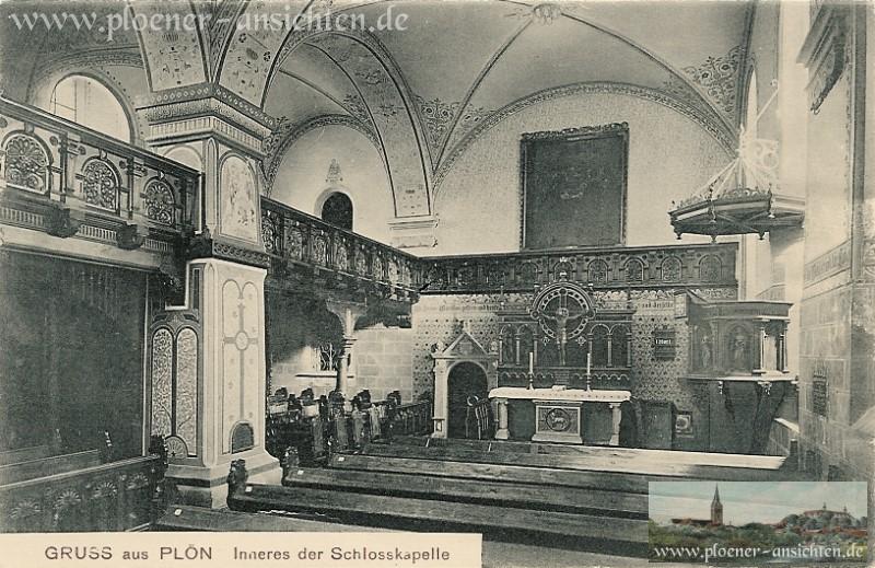 Inneres der Schlosskapelle