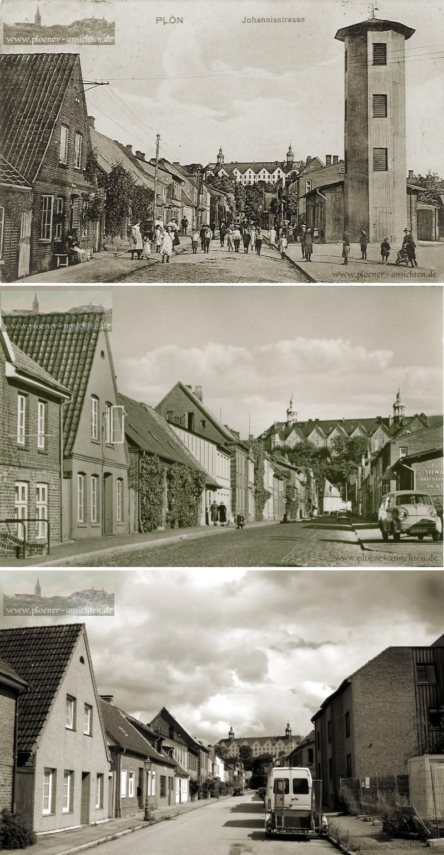 Johannisstraße - vorgestern, gestern und heute