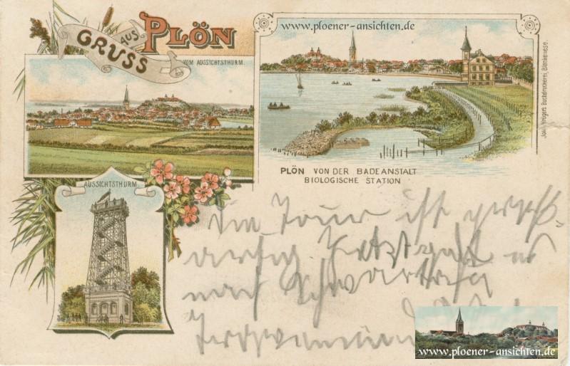 Jugendstil-Plön 1897