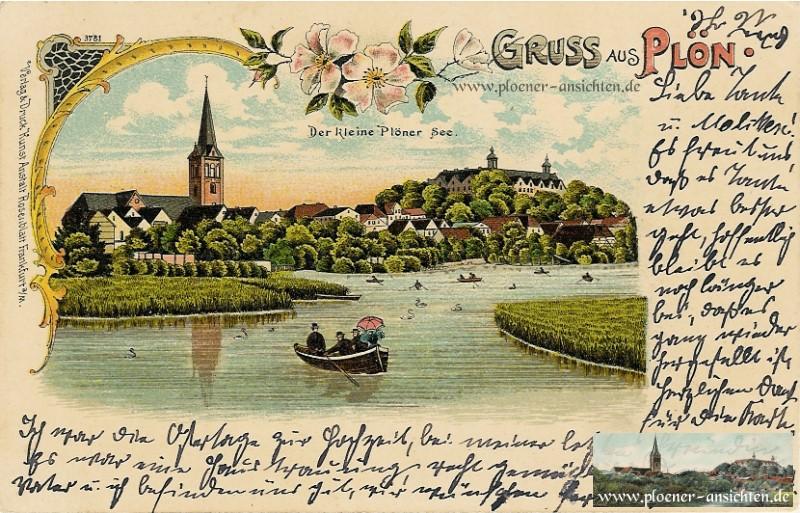 Gruss aus Plön - Der kleine Plöner See