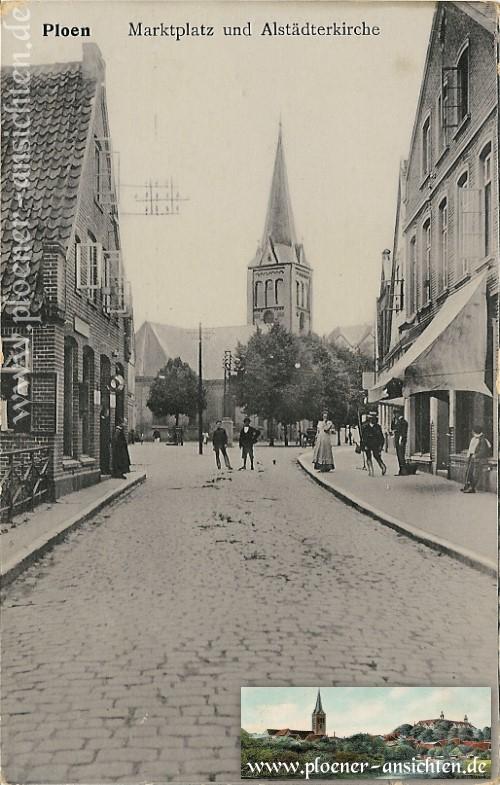 Marktplatz und Altstädter Kirche