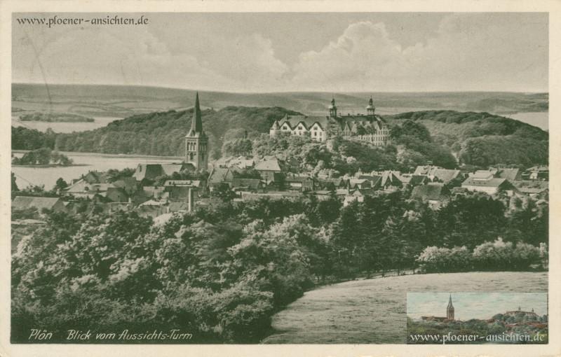 Plön - Blick vom Aussichtsturm 1936