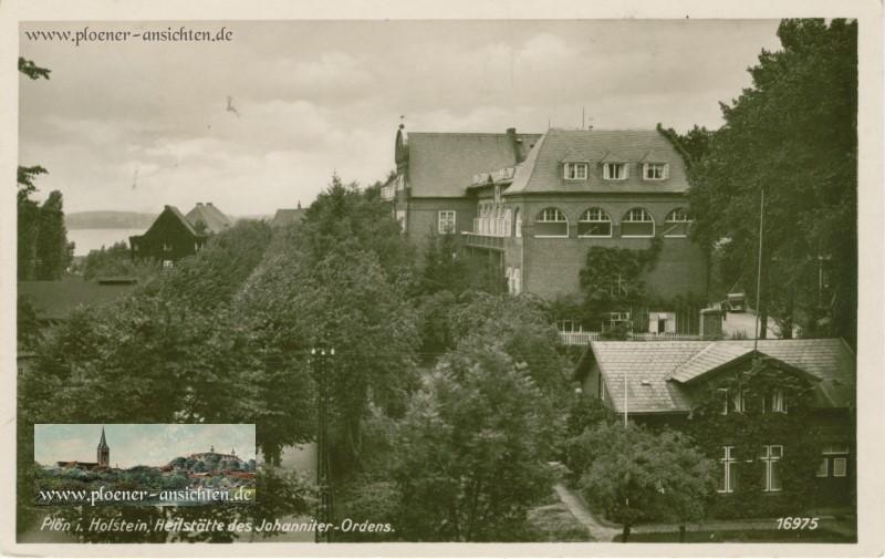 Plön in Holstein - Heilstätte des Johanniter-Ordens