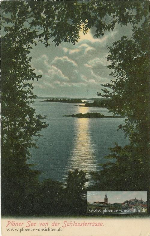 Plöner See von der Schlossterrasse