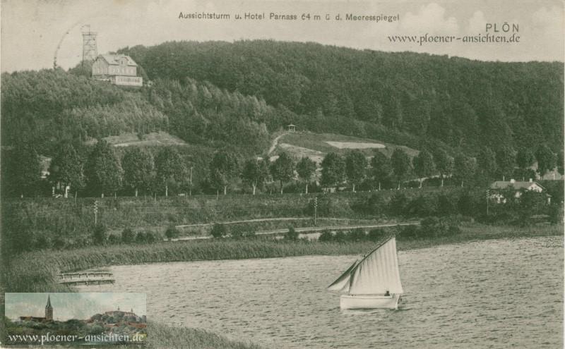Aussichtsturm und Hotel Parnass