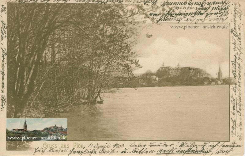 Gruß aus Plön 1903