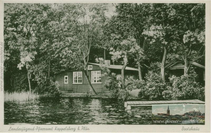 Landesjugend-Pfarramt Koppelsberg bei Plön Bootshaus