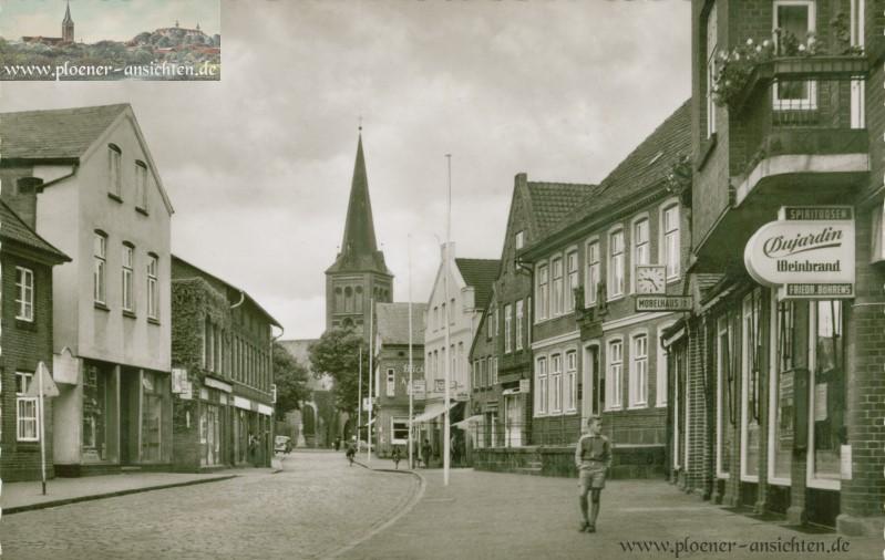 Lübecker Straße in Plön