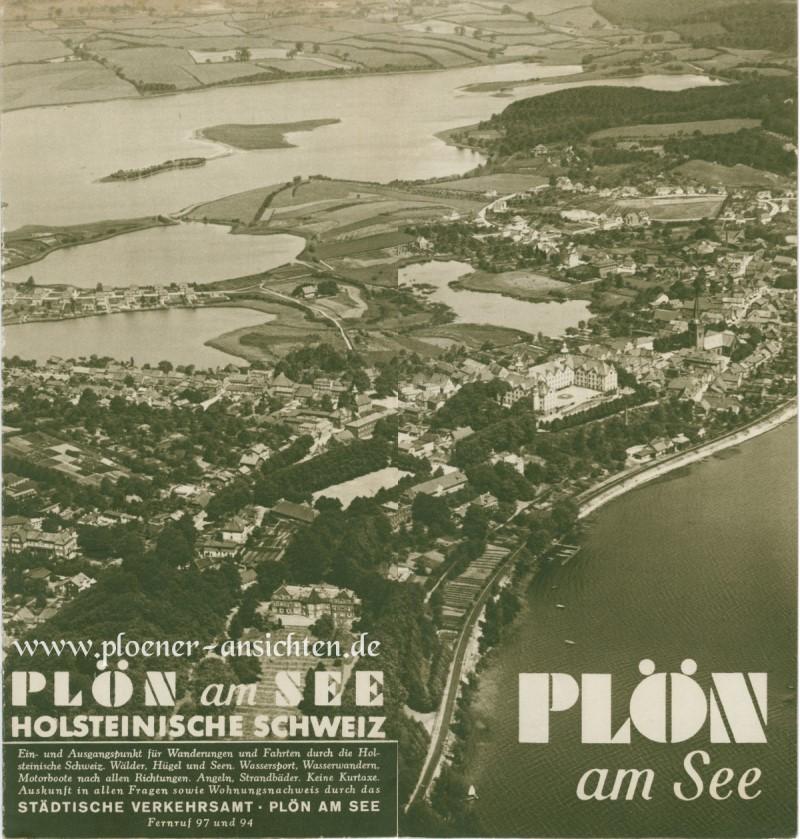 Plön am See Fremdenverkehrsprospekt 1935