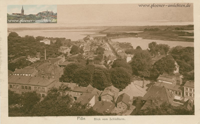 Plön - Blick vom Schlossturm