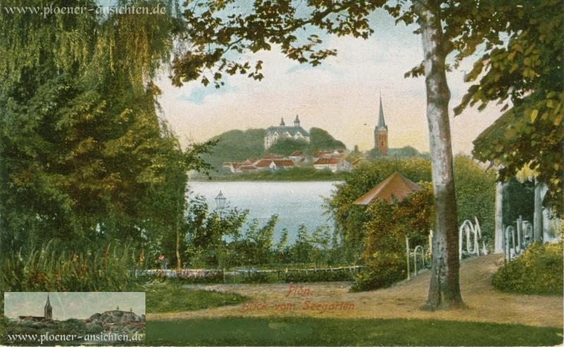 Plön - Blick vom Seegarten