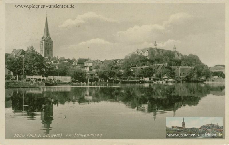 Plön Holst. Schweiz - Am Schwanensee