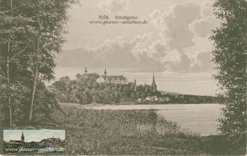 Plön - Blick vom Schlossgarten