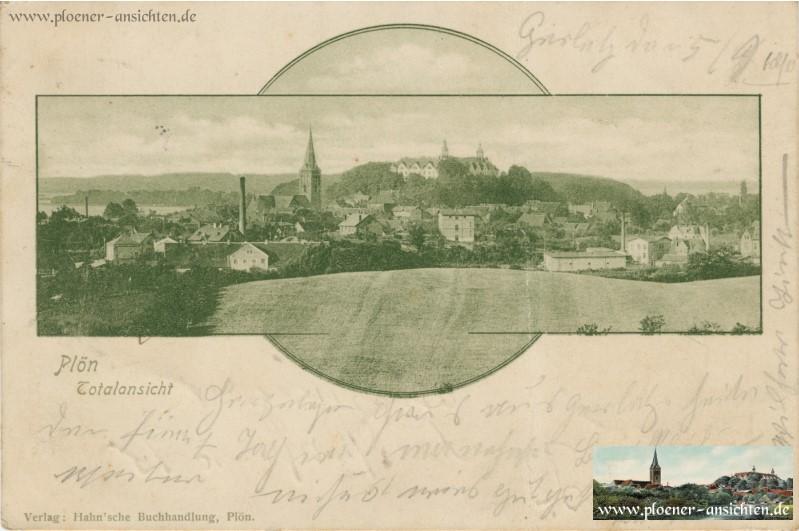 Plön Totalansicht 1900