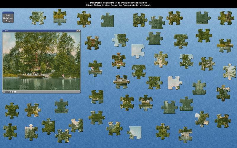 Plön-Puzzle: Fegetasche