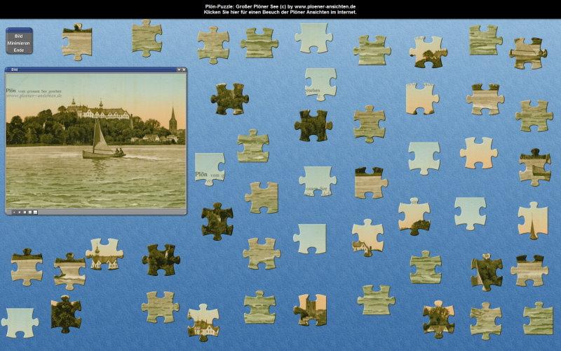 Plön-Puzzle: Großer Ploener See