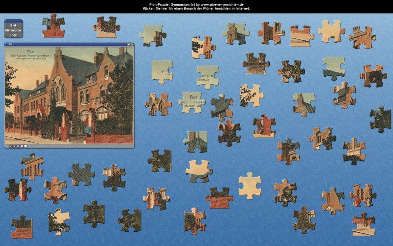 Plön-Puzzle: Das Gymnasium