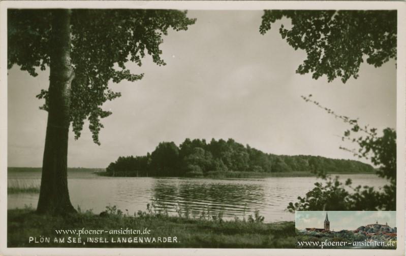 Plön am See - Insel Langenwarder 1935