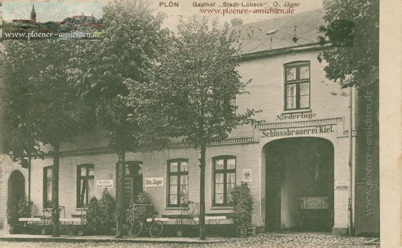 Plön - Gasthof Stadt Lübeck Otto Jäger