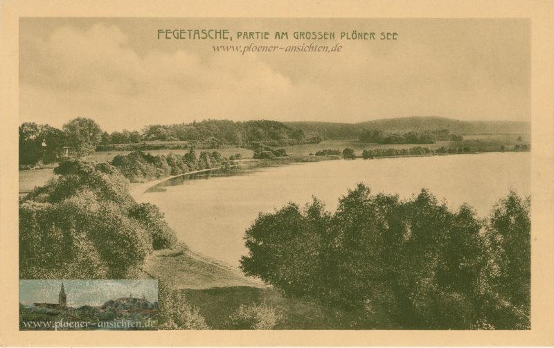 Fegetasche - Partie am Grossen Plöner See - 1911