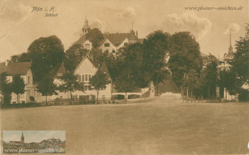 Plön i. H. - Schloss - 1915