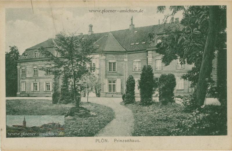 Plön - Prinzenhaus - 1920