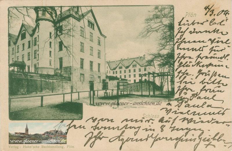 Schloss Plön - 1904