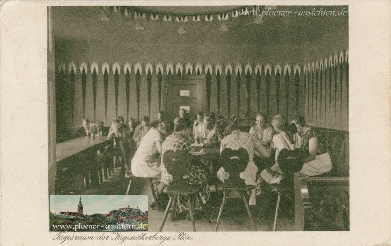 Tagesraum der Jugendherberge Plön - 1933