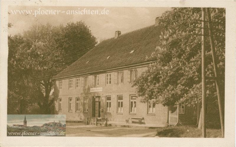 Gasthof zur Fegetasche - Motorboot Knotenpunkt - 1926