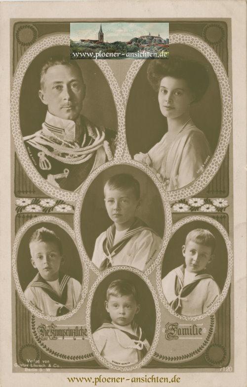 Die Kronprinzliche Familie - 1915