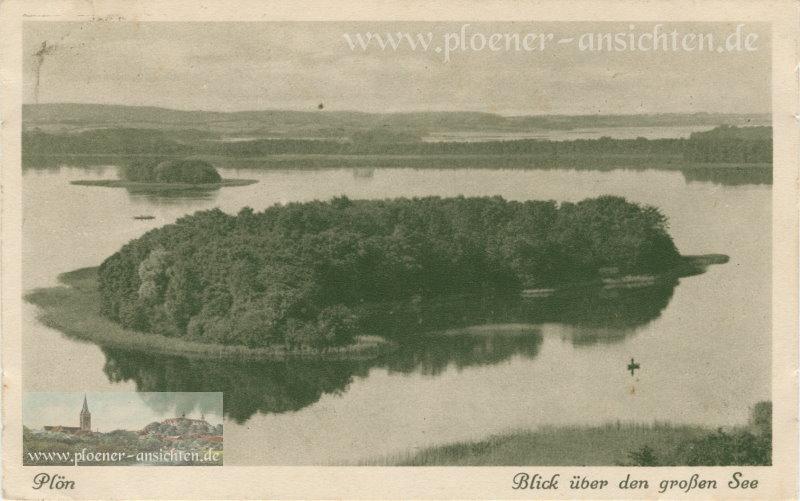 Plön - Blick über den großen See - 1926