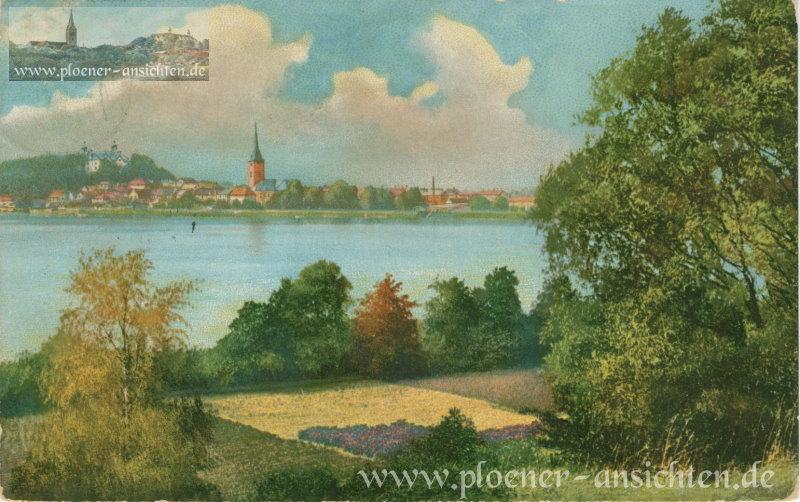 Blick auf Plön - 1912