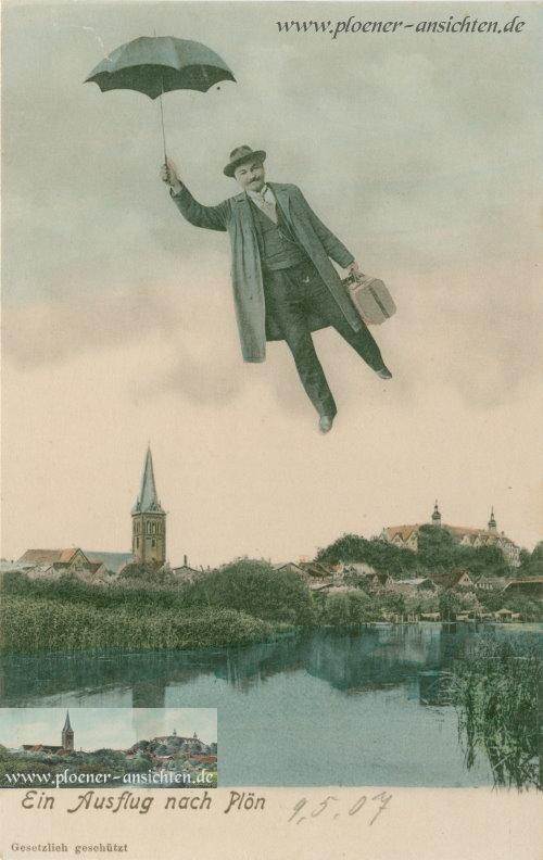 Ein Ausflug nach Plön - 1907