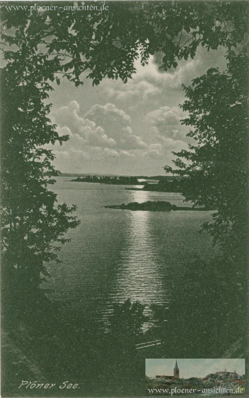 Plöner See - Mondschein