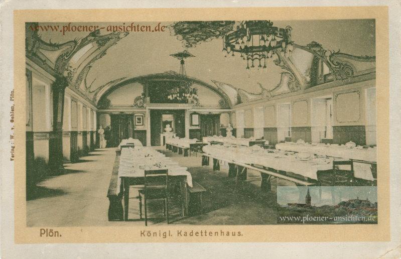 Plön - Königliches Kadettenhaus - 1908