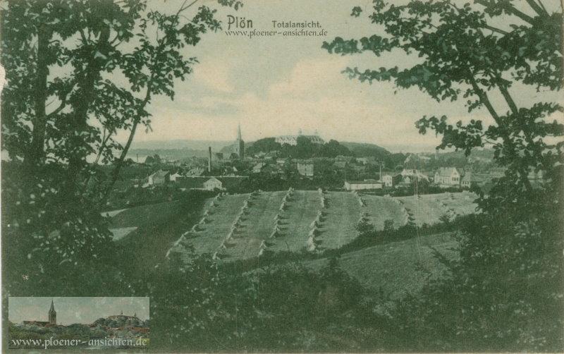 Plön - Totalansicht - 1917