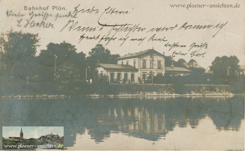 Bahnhof Plön - 1905
