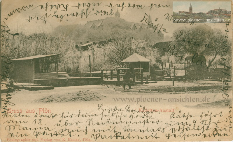 Gruss aus Plön - Kadetten-Anstalt - 1902