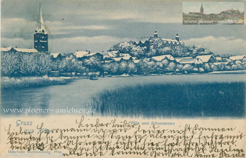 Gruss aus Plön - Plön am Schwanensee - 1899