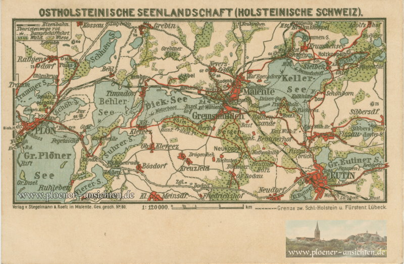 Ostholsteinische Seenlandschaft (Holsteinische Schweiz)