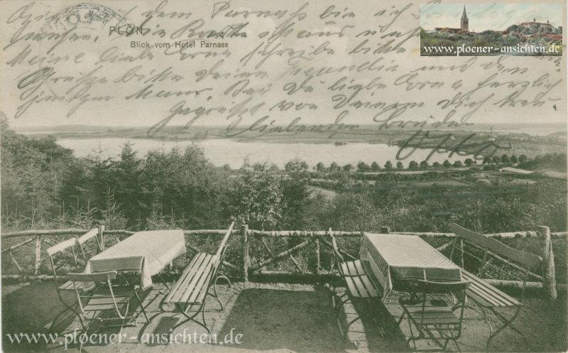 Plön - Blick vom Hotel Parnass - 1910
