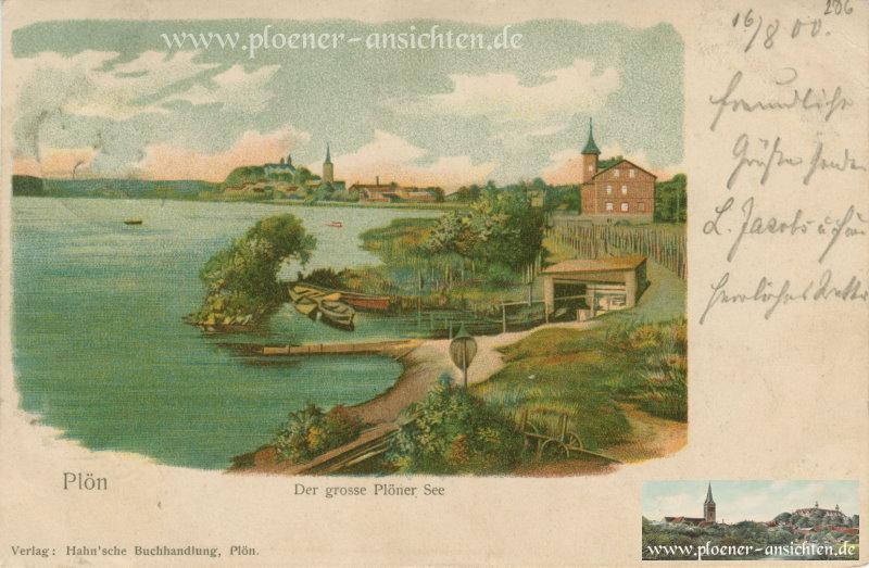 Plön - Der grosse Plöner See - 1900