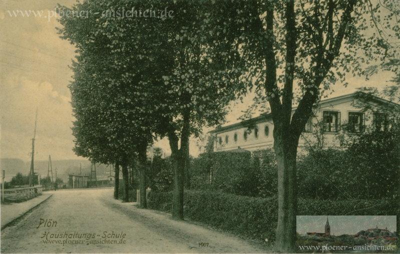 Plön - Haushaltungs-Schule - 1907